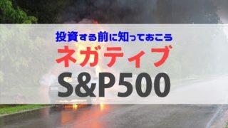 ネガティブS&P500